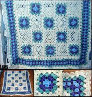 Crochet Afghan by Petra0