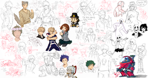 Drawpile Art Dump 1 by Day-Dream-Fever