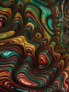 Trippy Fractal by Kaleiope-Studio