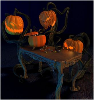 Halloween Candy by Alanise