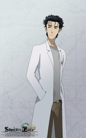 Steins Gate - Okabe Rintarou by Mesopelagic