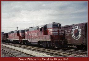 Boxcar Billboards by classictrains