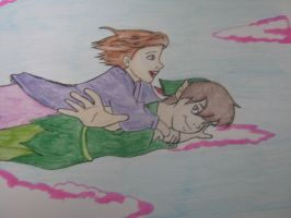 Peter Pan and Jane by TimeAngel-113224400