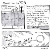 Quest for the Truth by SometimesDrawings