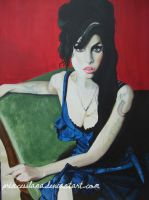 Amy Winehouse by PrincessLana