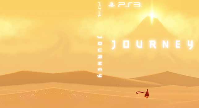 Journey PS3 Custom Cover by ropa-to
