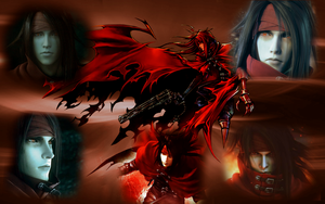 Vincent Valentine Wallpaper by LittleEvilPikachu