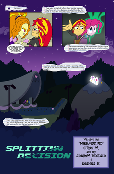 Equestrian City - Issue 0, page 1 by Drewdini