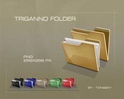 TRIGANNO FOLDER by Tongsky