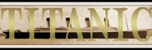 RMS Titanic - Name-Art by RMS-OLYMPIC