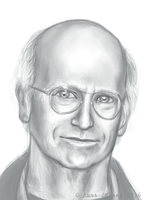 Larry David by Hobbitato