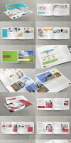 3x Business / Corporate Multi-purpose A4 Brochures by env1ro