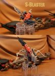 Zoids S-Blaster: Tremor BCAS support unit by DGDSND01