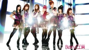 Berryz Group Wallpaper 6 - WANT! by Mordhel44