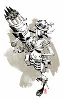 Tank Girl by nelsondaniel