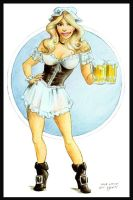 'Beer Wench' by erosarts