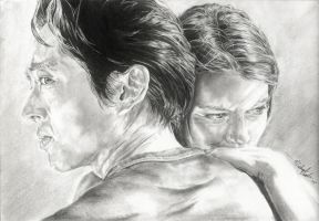 Glenn and Maggie by michaelmdw