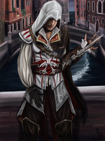 Ezio Auditore by Blaukralle