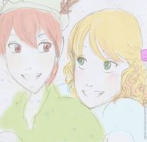 Peter and Wendy by xsweetsillygirl