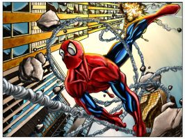 Spidey by bobbett