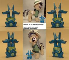Daring Do and the Sapphire Stone Collab by Blackout-Comix