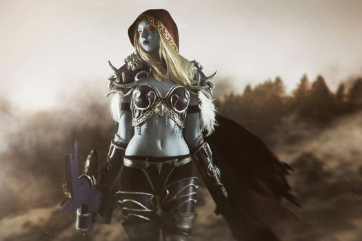 [World of Warcraft] - Sylvanas Windrunner cosplay by Alexial-kun