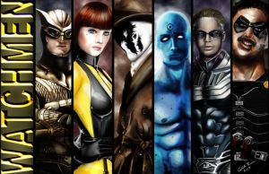 The Watchmen by Caleblewis