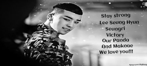Stay strong Seungri by Kpop-love-BigBang