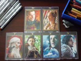 GoT sketch cards by DavidDeb