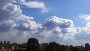 Amazing Clouds in Egypt 2 by A-Man-With-No-Art