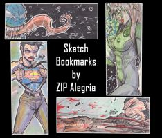 Sketch bookmarks by ZipDraw
