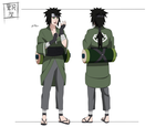 Naruto OC Sheet: Shigeru Kurosawa (20-23) by maple-flower