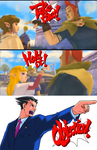 Phoenix Wright ~ Ace Attorney ~ Zelda Edition by RedshiftTheFox