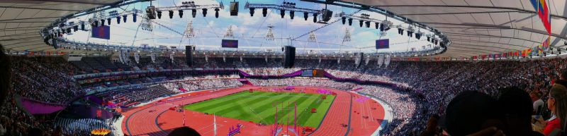 Olympic Stadium London 2012 by SilentWard