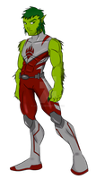 Concept_Beast Boy by JO-Bac