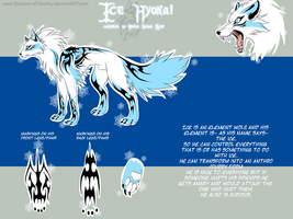 Ref Sheet .:Ice Hyokai:. by Shadow-of-Destiny