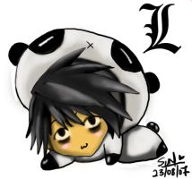 L is panda? by SunAndClouds