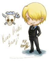One Piece - Chibi_Sanji by Koret-Sirsep