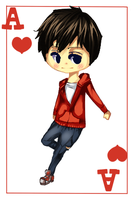 New ID/ Me as ace of hearts/ R from warm bodies by imagine-art-21614