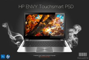 HP ENVY Touchsmart Template .PSD by ReloadENt