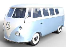 Vw Combi by gayphotoreal