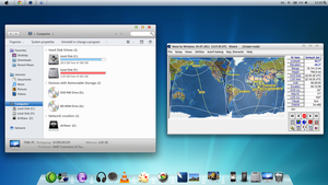 Mac OS X Theme for Win7 by Thyrring