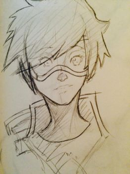 Tracer sketch by SelcukDis