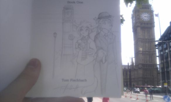 Commisioned- Keith and Natani being British by Ivan-Causey