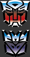 Transformers G1 Logos by NeoApocalypse
