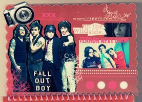Fall Out Boy by EyesSizeOfTheMoon