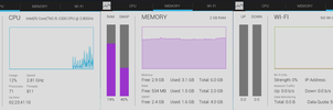 Android Jelly Bean Task Manager Skin for Rainmeter by nik2104