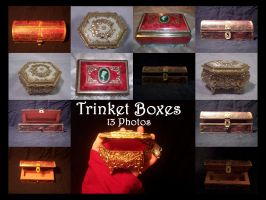Trinket Boxes by TatteredButterfly