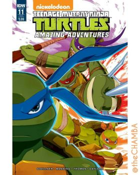 TMNT Amazing Adventures 11 by theCHAMBA