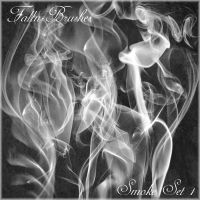 Smoke Brushes Set 1 by Falln-Stock